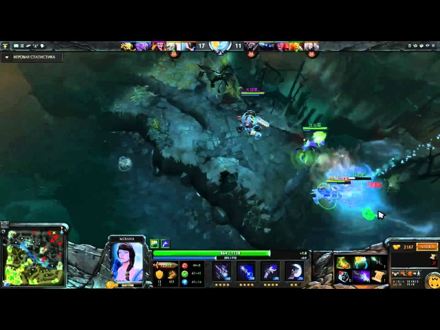 IG.Chuan Mirana Gameplay