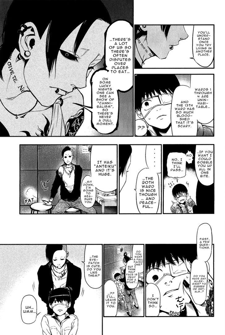 Tokyo Ghoul, Vol.2 Chapter 11 Mask, image #13