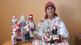 """Создание кукольной композиции """"Живая нить традиций"""" В.А.Ребровой"""