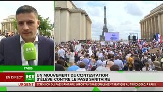 Pass sanitaire : «Un gros problème de constitutionnalité», pour Maxime Thiébaut