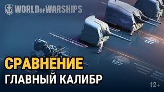 Сравнение орудий: американский главный калибр   World of Warships