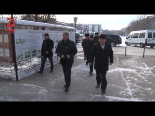 Кабанский район с рабочим визитом посетил Глава РБ Алексей Цыденов.mp4