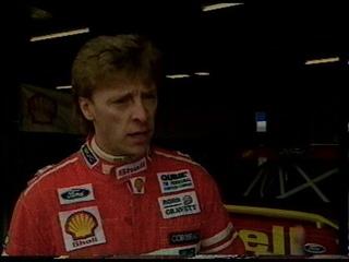 Mark Hales на Galant VR-4 E39 Под номером 88 С  минуты 1991 BTCC pt3, (rounds 10,11,12,13,14)