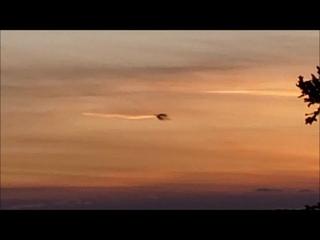Huge Black Cube UFO in sky over Halifax, Nova Scotia