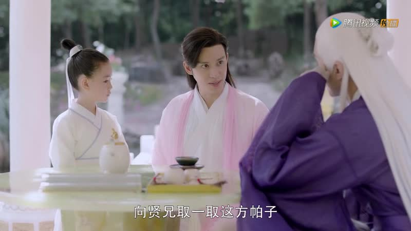 Baron Chen and Vengo Gao in a new Three Lives, Three Worlds: The Pillow Book / Eternal Love of Dream / 三生三世枕上书 drama 2020.