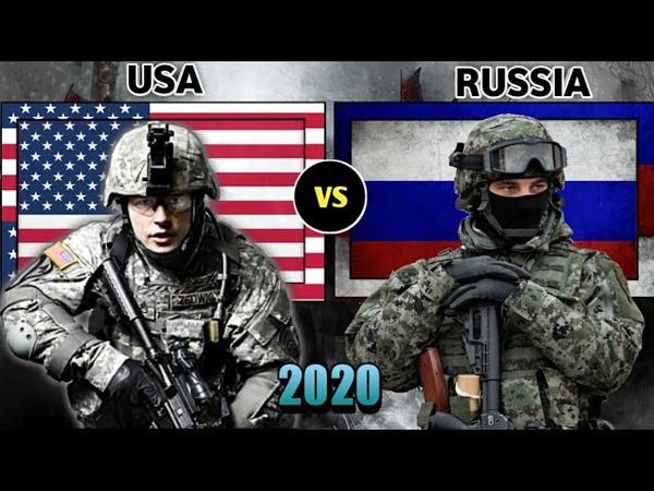 USA vs Russia military power comparison 2020