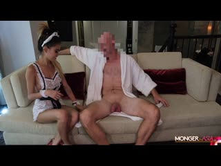 Beautiful Skinny Teen Maid Impregnated by Massive Cock [2020 Petite, Asian, Straight, Uniforms, Creampie, Секс Анал Минет 18+ ]