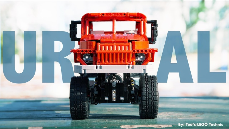 URAL 4320 Trial Truck made from LEGO TECHNIC