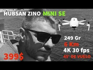 HUBSAN ZINO MINI SE, el Mini Economico de Hubsan, Respuesta al Dji Mini SE. 45 minutos