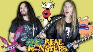 AAAHH!!! REAL MONSTERS | METAL COVER | ft. Jadran Gonzalez | Andrew Soto