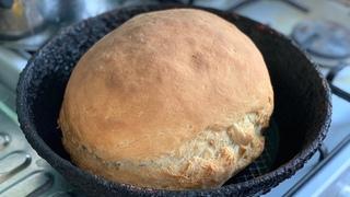 Домашний Хлеб в Духовке рецепт из Села . Пышный хлеб простой рецепт хлеба . Бабушкины рецепты