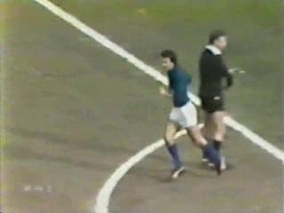 1980 Italy vs Romania friendly
