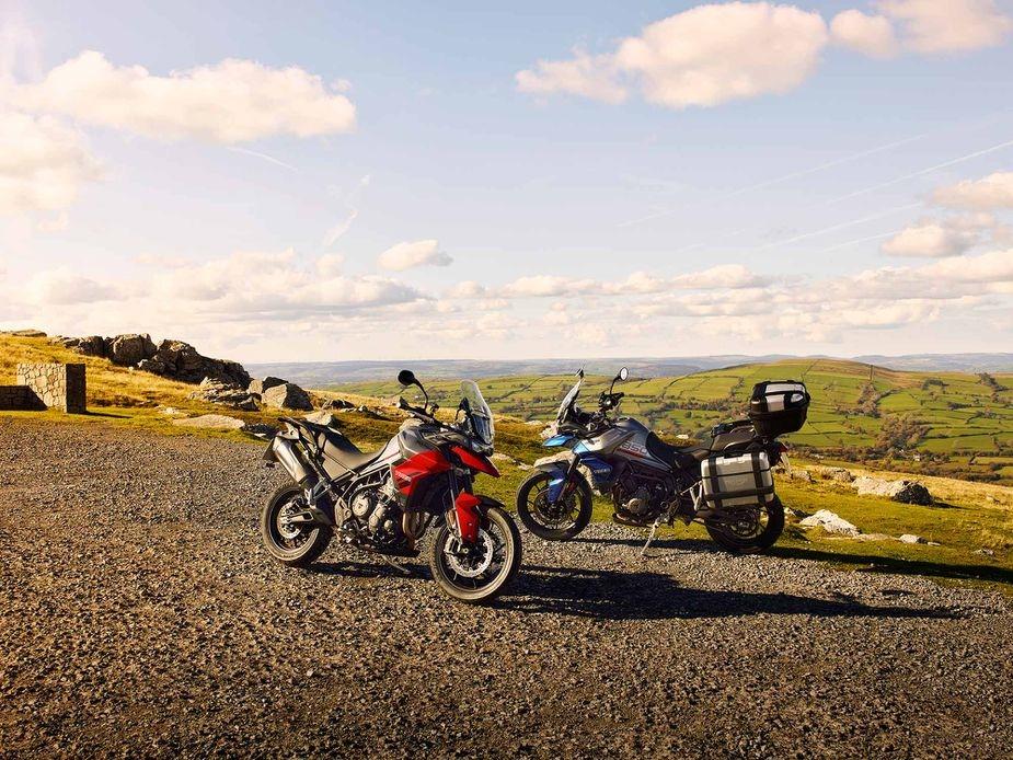 Новый мотоцикл Triumph Tiger 850 Sport 2021