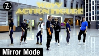 [Mirror Mode] WayV 威神V 'Action Figure'   DANCE PRACTICE   Z-AXIS FROM SINGAPORE