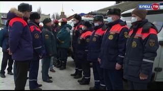 Плановая проверка: в Ельце оценили готовность городских служб на случай возникновения паводка