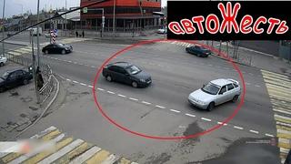 ДТП на перекрестке (пострадал ребенок) | автоЖесть [3]