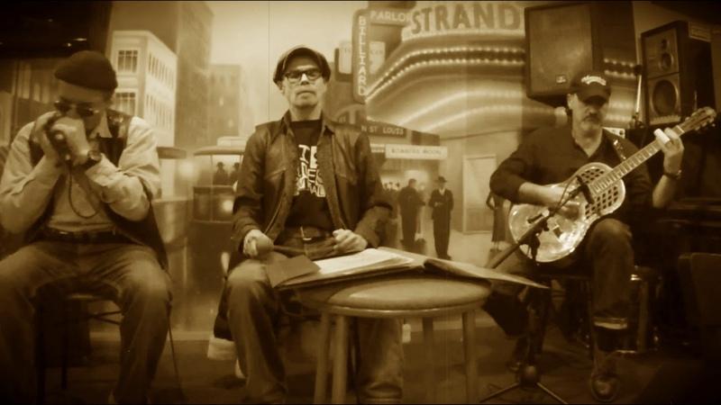 Big Blues Revival Delta Trio You Shook Me 01 02 2020 Red Fox jazz cafe Saint Petersburg