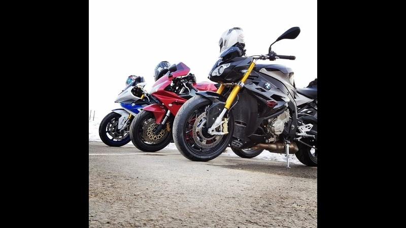 BMW S1000R vs Honda CBR954RR drag race