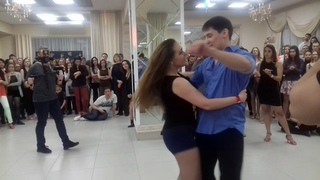 Jack&Jill Intermediate,  Алексей Рябев и Надежда Тимофеева, Spring Zouk Fest 2019,