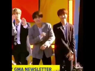 its vhopes world we are just living in it (190515 GMA)