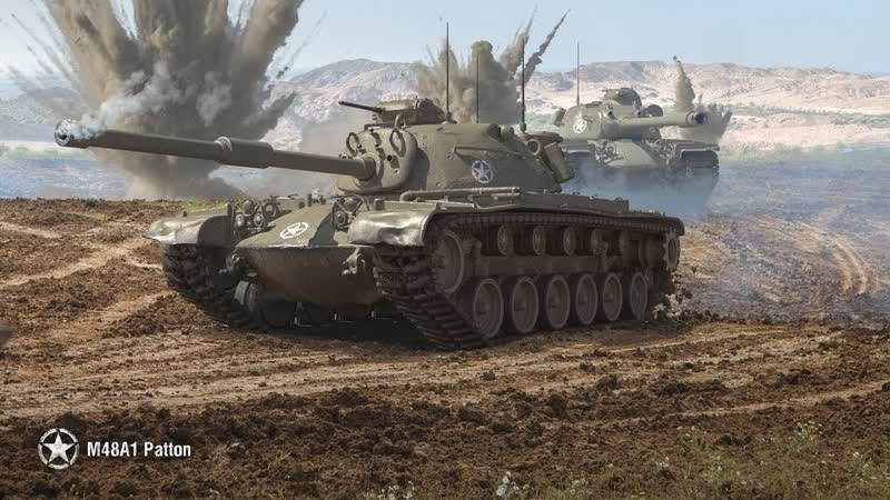 M48A5 Patton JUST DO IT World of Tanks 720p