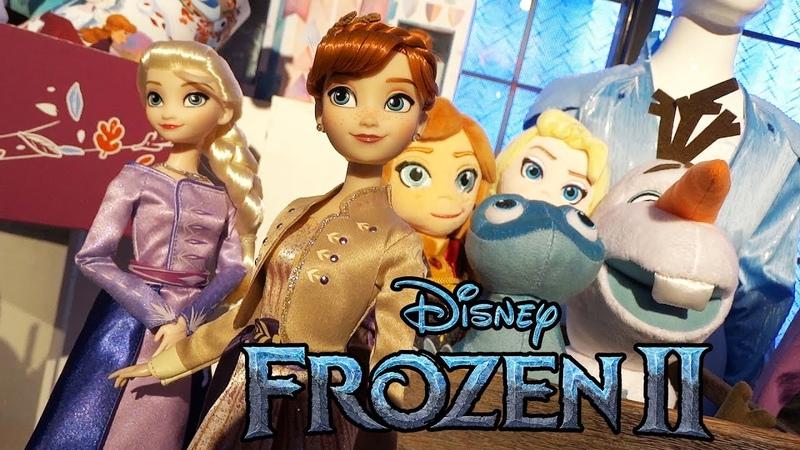 Frozen 2 merchandise revealed for Frozen Fan Fest