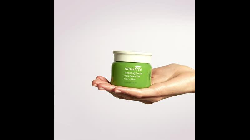 Innisfree Balancing Cream with Green Tea