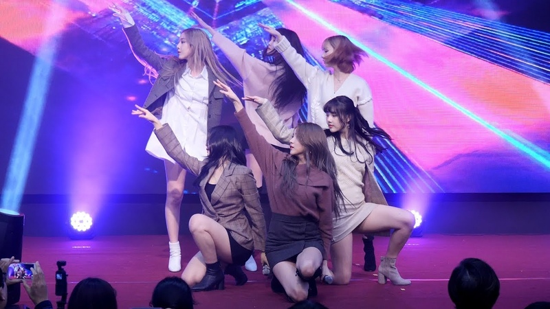 191204 여자친구 (GFRIEND) Time for the moon night(밤) [4K] 직캠 Fancam (SW인재페스티벌) by Mera