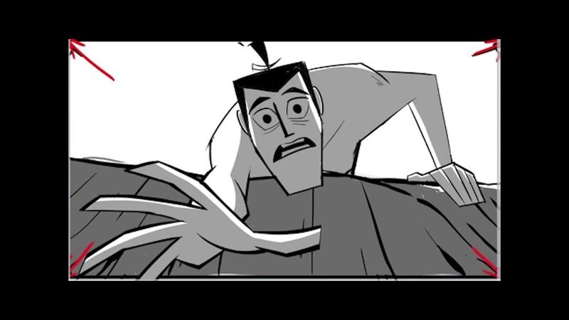 Samurai Jack S04E07 Animatic