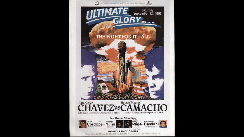 Видео боя Хулио Сезар Чавес-старший - Гектор Камачо (HD 720 )