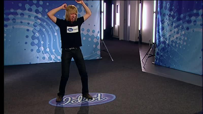 Idoljuryn blir mållös av Dragostea din tei (Mai ya hee)-audition i Idol 2006 - Idol Sverige (TV4)