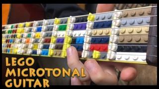 Lego Microtonal Guitar