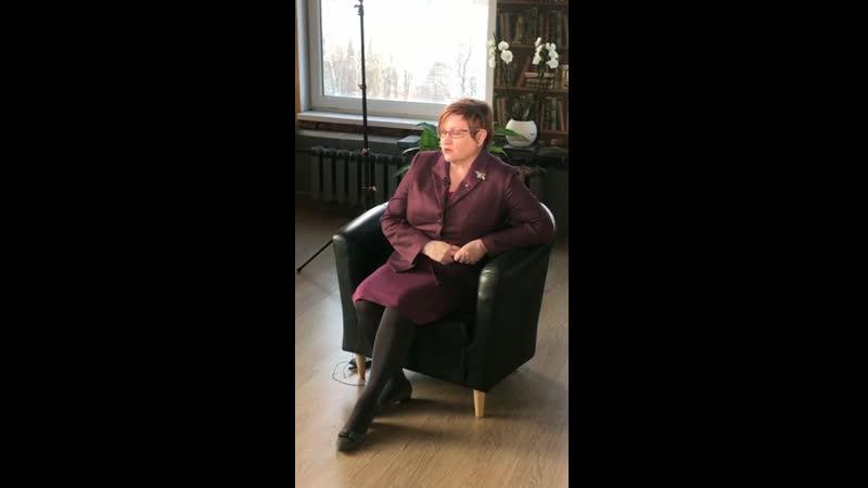 Интервью для телеканала РЕН - ТВ