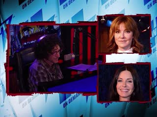 Christa Miller and Courteney Cox on Howard Stern | 2011 Interview