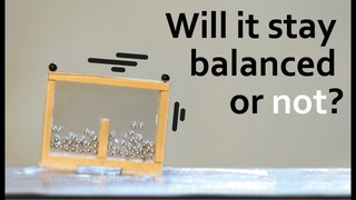 Will it stay balanced ? Particle interactions #VeritasiumContest