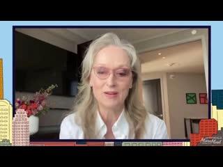 Meryl Streep joining CITYMEALS ON WHEELS