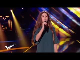 "Шоу ""Голос"" Kids Франция. - Лара с песней «Внимание» — ""The Voice"" Kids France 2018 - Lara - ""Attention"""