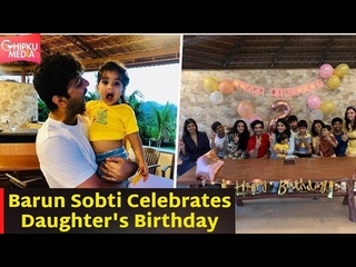 Barun Sobti Celebrates daughter Sifat's 2nd B'day with Iss Pyaar Ko Kya Naam Doon Team  Sanaya Irani