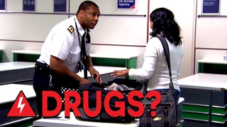 Border Agents Search For Hidden Drugs at Gatwick Airport | Customs