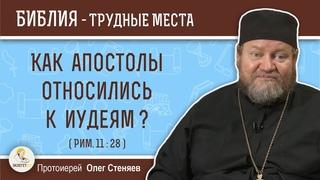 Как апостолы относились к иудеям ? (Рим. 11:28)  Протоиерей Олег Стеняев