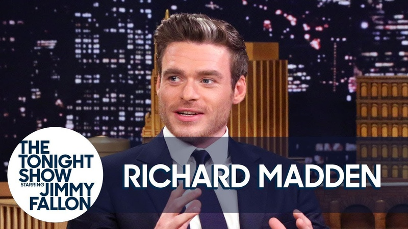 Richard Madden Teaches Jimmy Scottish Slang and Reflects on Game of Thrones