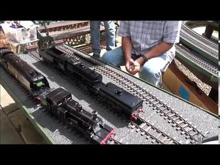 Black Magic a Masterclass by Geoff Calver, firing up a coal fired Gauge 1 LMS Garratt