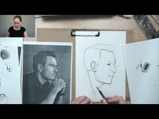 Технология портрета. Профиль. Speed paint