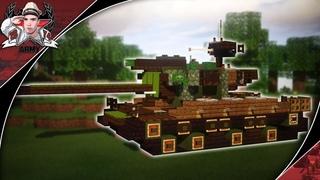 Minecraft: WW2 T26E4 Super Pershing | Heavy Tank Tutorial