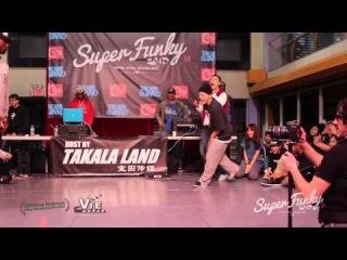 Super Funky Vol.3 Hiphop Semi Final Ben VS. Rice Ball