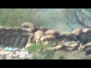 Снайпинг хуситов по суданцам и южанам в джизане.
