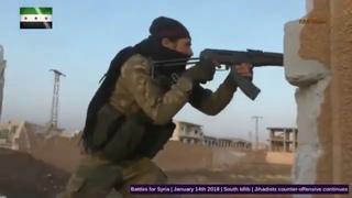 isis gopro war Jihadist counter offensive in syria Pov Heavy attack Top war combat