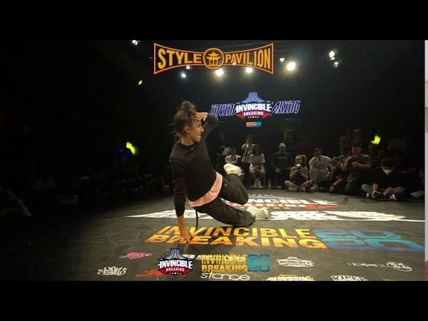 Lee Rock vs Royal Semi Finals Bgirl 1on1 Invincible Breaking Jam 2020