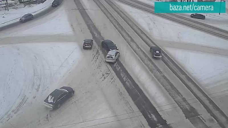 ДТП. площадь Бабушкина 15.01.2021 в 12:59