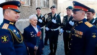 Поздравление ветерана ВОВ Степанова Геннадия Ивановича в Чите